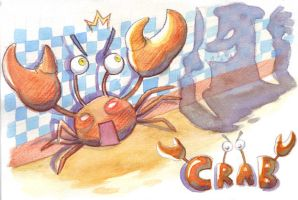 Oh, CRAB by ashiong
