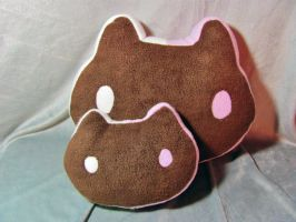 Cookie Cat - Steven Universe Pillow Plush by Wela-Inomae