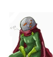 scraps: Mysterio by Maiden-Chynna