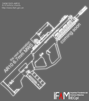 AR10 6.7mm MWS Service Rifle - Advert by SixthCircle