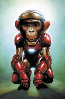 Iron Chimp by JPRart