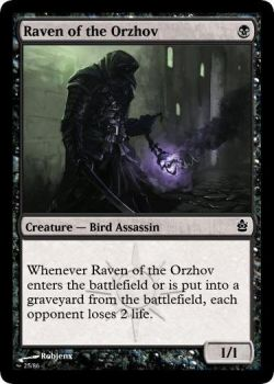 Raven of the Orzhov by bricktop666