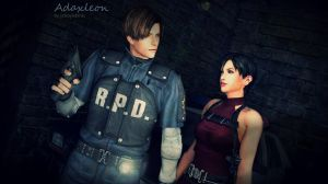 Ada x Leon: Raccoon City Again by Yokoylebirisi