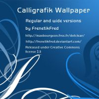 Calligrafik wallpaper by FrenetikFred