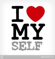 I Heart MY self by kontrastt