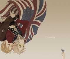 Hetalia - USUK Gravity by Vaindelled