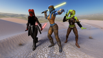 The Twi'lek Three by shaungsimpson