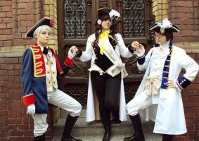 Hetalia: Austrian succession by Beehl