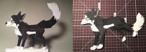 Paper Puppet Commission- Skylar by Spazzel