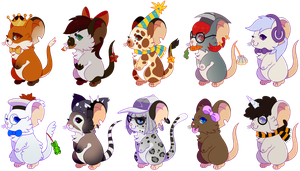 mice! by Fluffily