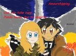 Amourshipping x Fallout: Can you take care by Satoshi-Vampire190