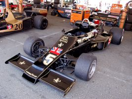 John Player Special Lotus F1 by Partywave