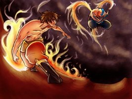 Fire Bending by Zinfer