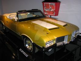 1971 Olds 442 Convertible by Qphacs