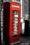 telephone box-rochester uk by cubisticnebular