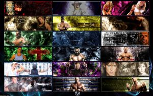 Ultimate Wrestling Sigs by MarvelousMark