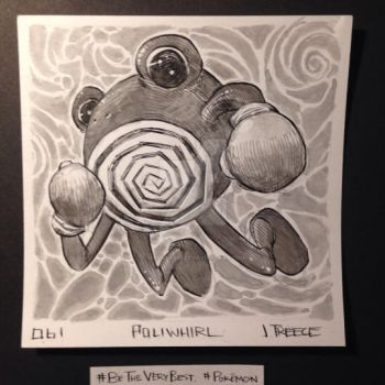 061 - Poliwhirl by JeremyTreece