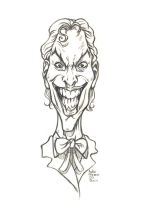 Daily Sketches Joker by fedde