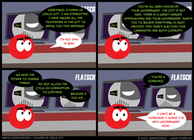 SC190 - Civilians 15: Conspiracist by simpleCOMICS