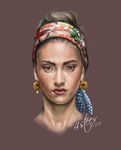 Woman's Portrait by 4steex
