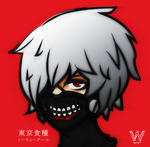 Tokyo Ghoul by Tanaie