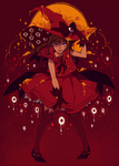 Red Witch by starpotion