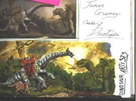 Dinotopia by dictionaryeater