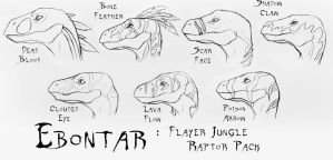 Ebontar: Flayer Jungle Pack by peanutchan