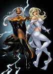 Nema's Emma and Storm by pixelisedmind