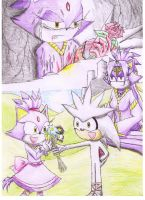 Silver and Blaze Flashback by Dogwhitesector