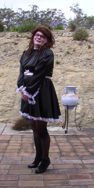 Maid Cecilia (Outdoors 2014) 2 by rjrgmc28