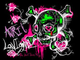 Avril Lavigne Logo by punkers3