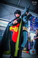 The Dynamic Duo !Batman And Robin (second version) by rinokumur