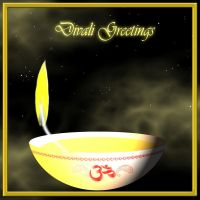 Divali  Greetings by AppleLily