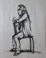 Figure Study - Sitting by SweetDreamscapes