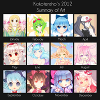2012 Art Summary by KokoTensho