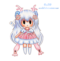 Gift : Ruri - Mini chibi by Oce3D