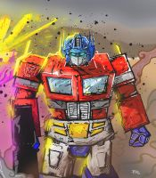 Optimus prime by rekmac