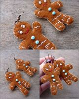 Gingerbread Man by TheTerezkaD
