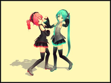 Sad Duet by mikuxwolf