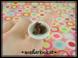 Plate of Cookies Ring by monsterkookies