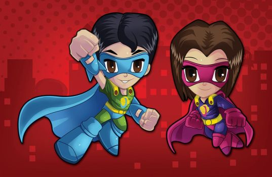 Ninos Super Heroes by lovogera