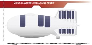 Cirrus Electronic Intelligence Airship by Afterskies