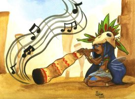 Holly Luya's favourite instrument by MableTheRabbid