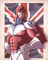 Captain Britain by Juggertha