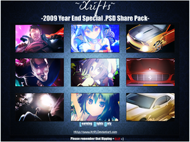 2009 Year End PSD Pack by Xrift