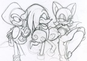 My Favorite Sonic Characters by CKT-INC