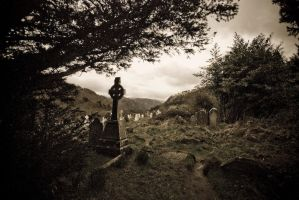 Cemetery of the monks by Yassser84