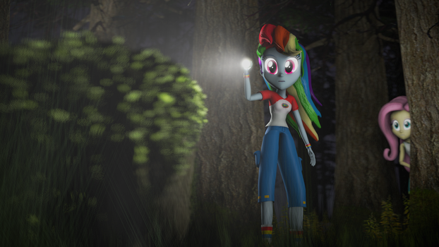 {SFM} MLP EQG: In the woods by jaygaming1