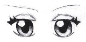 Manga Eyes by D347hhound